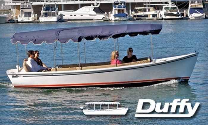Duffy Electric Boats of Lake Norman - Davidson: $69 for a Two-Hour Boat Rental at Duffy Electric Boats of Lake Norman ($150 Value)