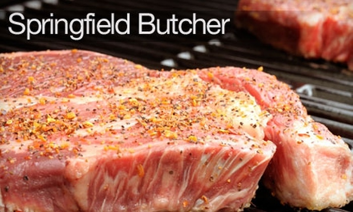 Springfield Butcher - Springfield: $19 for $40 Worth of Meat and Seafood at Springfield Butcher
