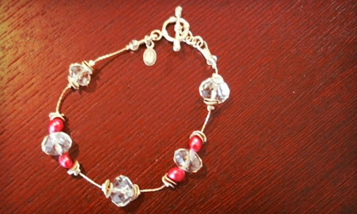 Bead Me by Linda Minor - Dilworth: $35 for $70 Toward Mother of the Bride Earrings or Bracelet at Bead Me by Linda Minor