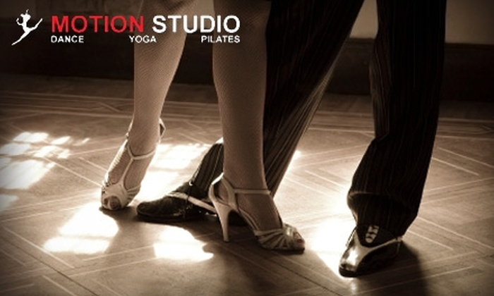 Motion Studio - Louisville: $30 for Six Weeks of Adult Sessions ($75 Value) or $20 for One Month of Children's Dance Classes ($70 Value) at Motion Studio in New Albany