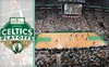 TD Garden - West End: $195 Celtics Playoff Package to the Celtics' Second Home Game ($380 Value). Includes Suite Ticket and VIP Reception with 2008 Championship Trophy. Click Below for Game 1 Package.