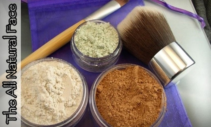 The All Natural Face: $10 for $20 Worth of Vegan Beauty Products from The All Natural Face