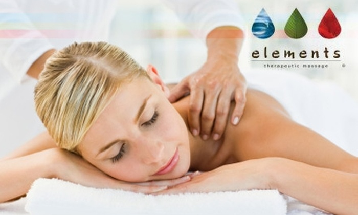 Elements Therapeutic Massage Chicago - Multiple Locations: $39 for a 55-Minute Therapeutic Massage from Elements Therapeutic Massage (Up to $79 Value)