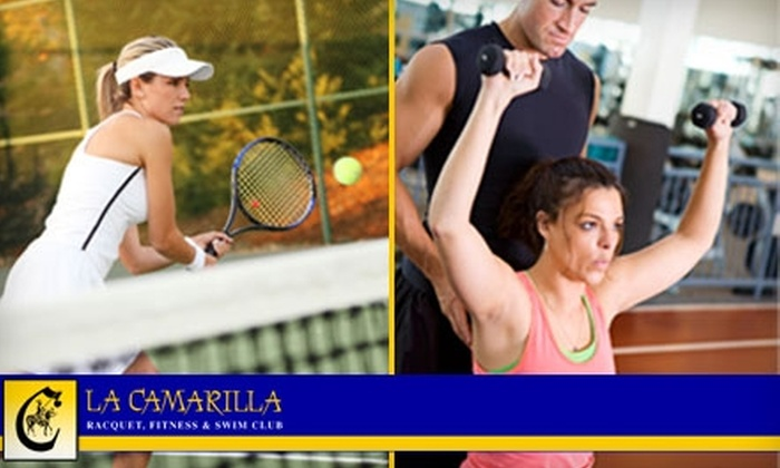 La Camarilla Racquet, Fitness & Swim Club - Paradise Valley: $49 for Eight Weeks of Tennis Lessons or Personal Training at La Camarilla Racquet, Fitness & Swim Club in Scottsdale (Up to $300 Value)