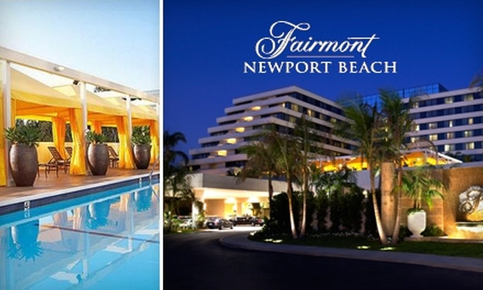 Fairmont Hotel Newport Beach Spa