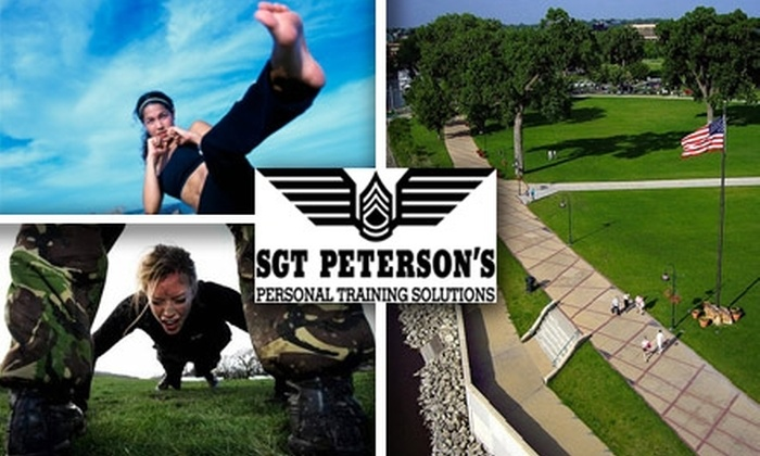 Sgt. Peterson's - Multiple Locations: $50 for One Month of Unlimited Boot-Camp Classes at Sgt. Peterson's Personal Training Solutions ($142 Value)