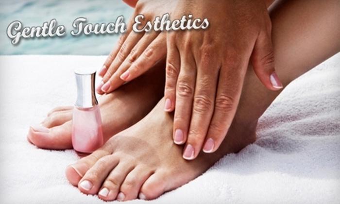 Gentle Touch Esthetics - Fernwood: $35 for a European Manicure and Pedicure at Gentle Touch Esthetics ($72 Value)