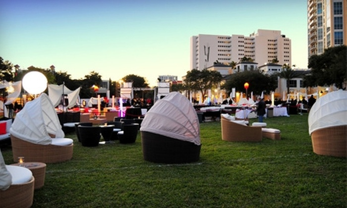 Chillounge Night - Downtown: $10 for a General-Admission Ticket (Up to $25 Value) or $47 for a VIP Ticket ($95 Value) to Tampa Chillounge Night on April 16