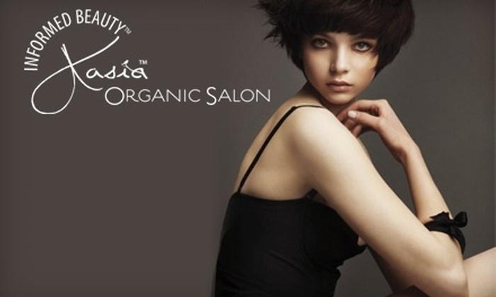 Kasia Organic Salon - Lynnhurst: $46 for Lip, Brow, and Brazilian Wax at Kasia Organic Salon ($92 Value)