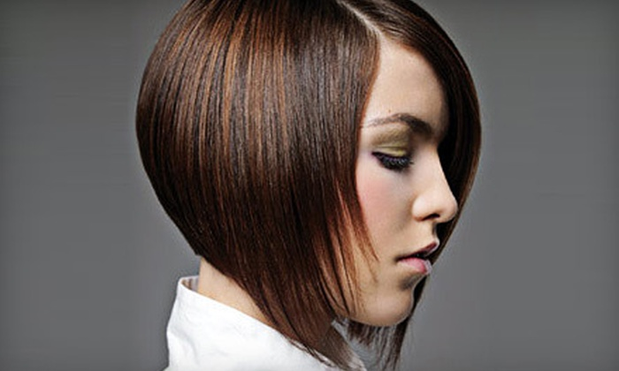 De Lis Salon - Manhasset: $35 for Haircut, Blow-Dry, and Shea Butter Deep-Conditioning Treatment at De Lis Salon in Manhasset (Up to $75 Value)