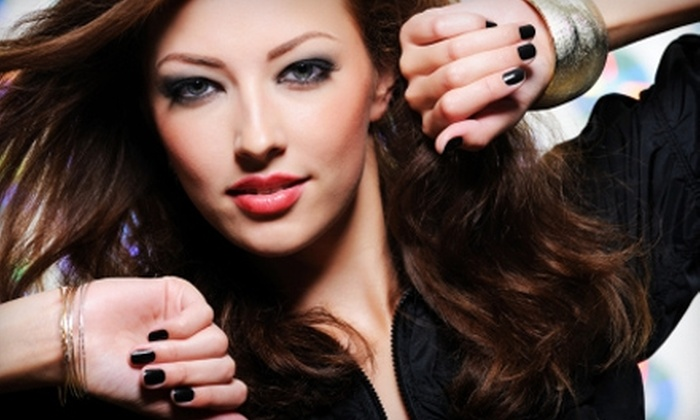 AquaStone Nails & Spa - Clearwater: $20 for a No-Chip Gel Manicure at AquaStone Nails & Spa in Clearwater ($40 Value)