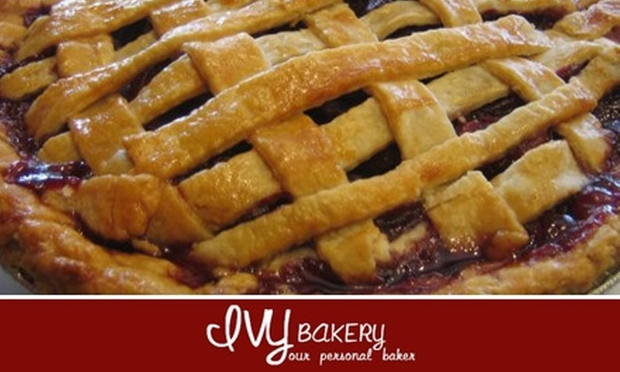 Ivy Bakery - Bay Ridge & Fort Hamilton: $14 for Any 9-Inch Pie at Ivy Bakery ($28 Value)