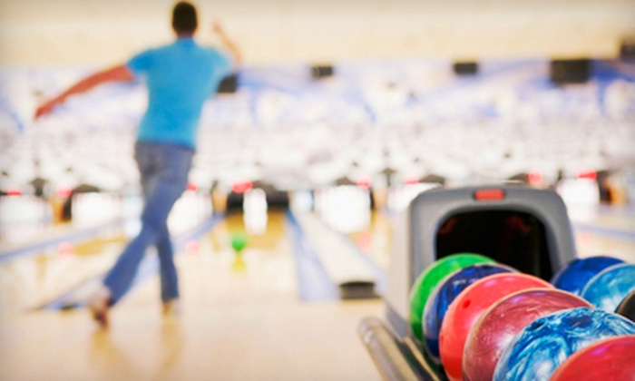 Shrewsbury Lanes - Shrewsbury: Two Games of Bowling and Shoe Rentals for Two, Four, or Six People at Shrewsbury Lanes (Up to 56% Off)
