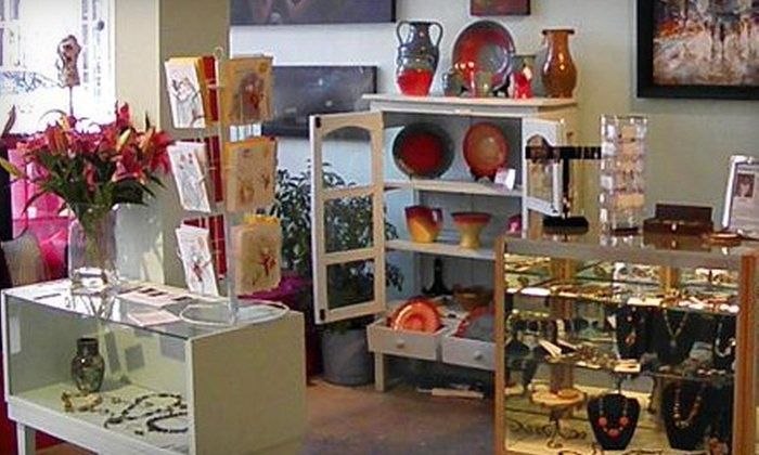 Ruby's Gift - Multiple Locations: $15 for $30 Worth of Jewelry, Artwork, and Crafts at Ruby's Gift. Two Locations Available.