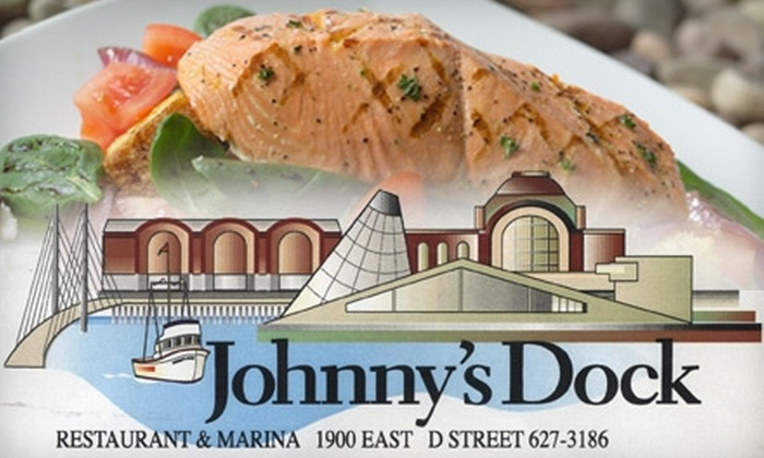 Johnny's Dock - New Tacoma: $25 for $50 Worth of Classic American Seafood and Drinks at Johnny's Dock Restaurant & Marina