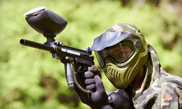 i70 Paintball - Huber Heights: Paintball Outing for One or Two, Plus, Gear and Equipment at i70 Paintball in Huber Heights (Up to 59% Off)