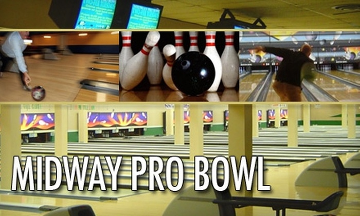 Midway Pro Bowl - Snelling Hamline: $20 for Six Games of Bowling and Six Shoe Rentals at Midway Pro Bowl (Up to $43.50 Value)