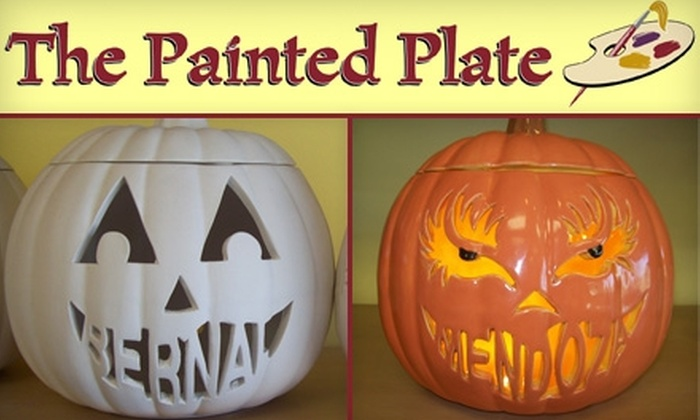 The Painted Plate - Northwest Side: $10 for $20 Worth of Paint-Your-Own Pottery at The Painted Plate