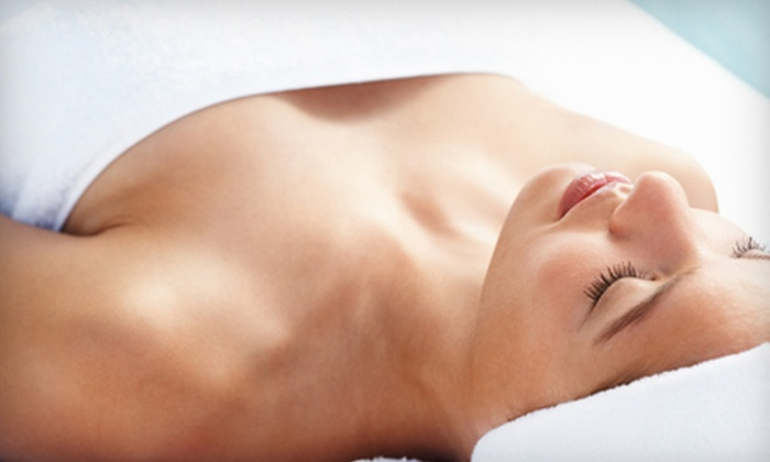 Olena's European Spa & Salon - Southgate: Tropical Body Scrub and Wrap or Three Hip and Thigh Anticellulite Treatments at Olena's European Spa & Salon (Up to 52% Off)