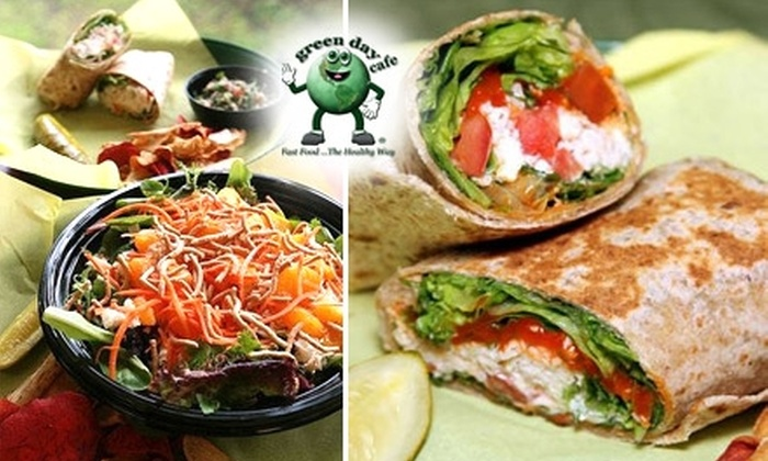 green day cafe - Fairview Shores: $4 for $8 Worth of Rice Bowls, Salads, Sides and More at green day café