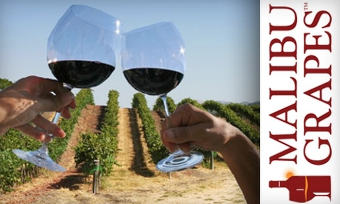 Malibu Grapes - Downtown Los Angeles: $199 for Malibu Wine Trail Tour for Two and Gift Set from Malibu Grapes