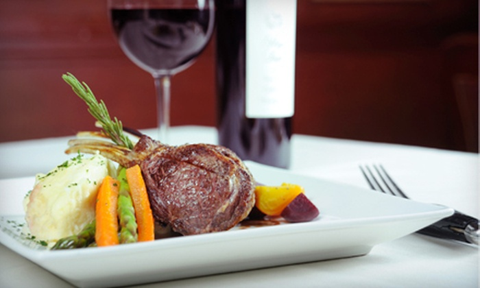 Luca's Chophouse - Grand Blanc: Steak-House Fare for Lunch or Dinner at Luca's Chophouse in Grand Blanc (Up to 57% Off)