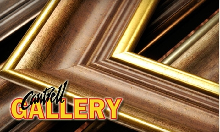 Cantrell Gallery - Midtown: $45 for $100 Worth of Complete Custom Framing at Cantrell Gallery