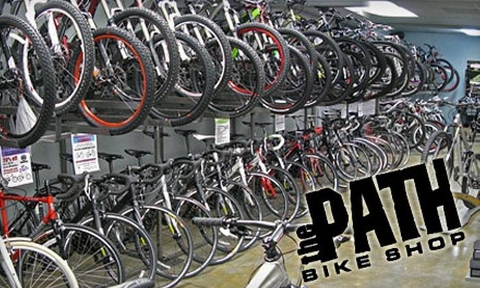 The Path Bike Shop - Tustin: $25 for Basic Bike Tune Up at The Path Bike Shop in Tustin ($55 value)