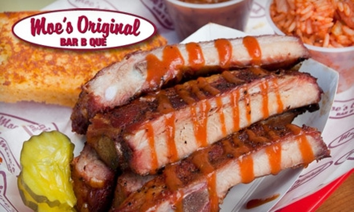 Moe's Original Bar B Que - Downtown Fort Collins: $10 for $20 Worth of Southern Soul Food at Moe's Original Bar B Que in Fort Collins