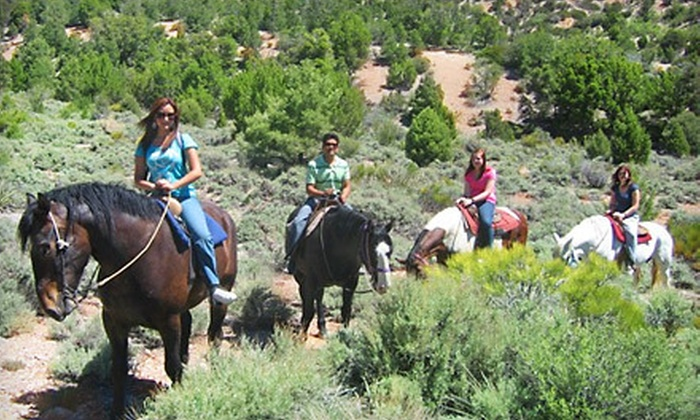 Mount Charleston Trail Rides - Blue Diamond: $35 for a 90-Minute Horseback Ride from Mount Charleston Trail Rides ($70 Value)