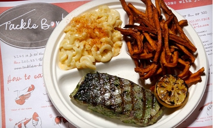 Tackle Box - Multiple Locations: $15 for $30 Worth of Lobster and Fresh Seafood at Tackle Box