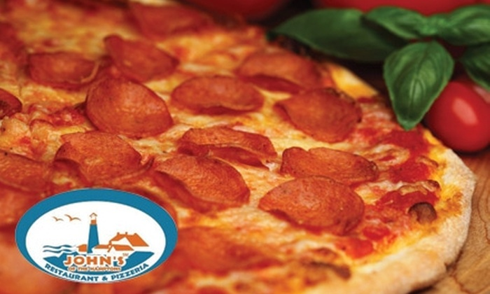 John's Rest. & Pizzeria - Southampton: $10 for $20 Worth of Pizza, Pasta, and More at John's Restaurant & Pizzeria