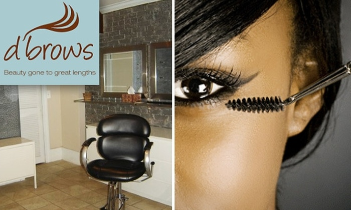D'Brows - U Street - Cardozo: Choice of Eyebrow Waxing or Threading or Brazilian Wax at D'Brows