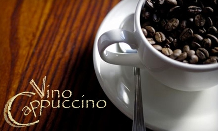Vino Cappuccino - Brookfield: $20 for $40 Worth of Cafe Fare and Wine at Vino Cappuccino in Brookfield