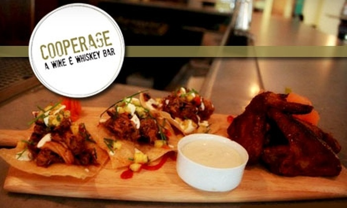 Cooperage - Center City East: $15 for $30 Worth of Southern Cuisine, Wine, and Spirits at Cooperage in Center City