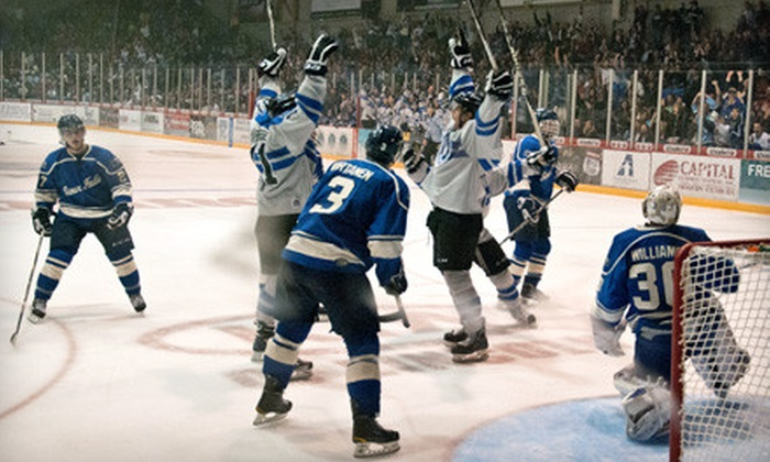 Lincoln Stars - Far South: $15 for Two Tickets to See the Lincoln Stars Versus the Tri-City Storm at the Ice Box (Up to $30 Value). Two Dates Available.