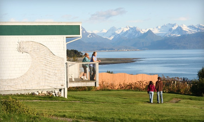 The Ocean Shores - Homer: $54 for a One-Night Stay at The Ocean Shores in Homer (Up to $109 Value)