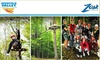 Zoar Outdoor - Boston: $50 for a Deerfield Valley Canopy Tour with Zoar Outdoor