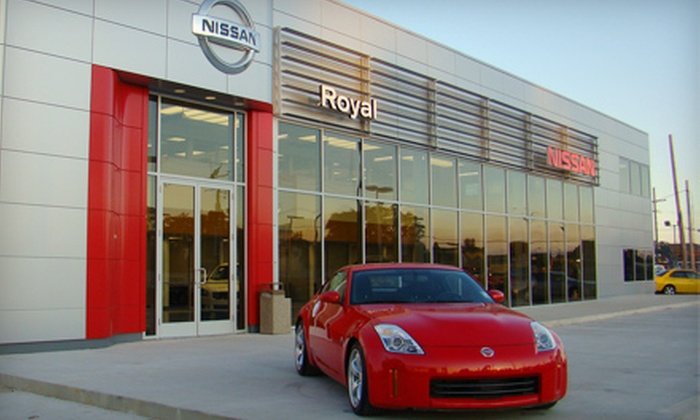 Royal Nissan & Royal Suzuki - Broadmoor/Sherwood: $18 for Oil Change, Filter Replacement, and 27-Point Inspection for All Makes and Models at Royal Nissan and Royal Suzuki ($52.95 Value)