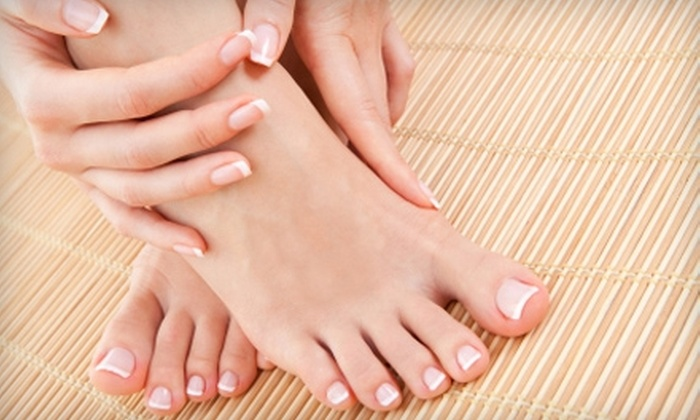 Studio 714 West - Raleigh / Durham: $25 for a Hollywood Spa Manicure and Shea Butter Love Pedicure at Studio 714 West ($70 Value)