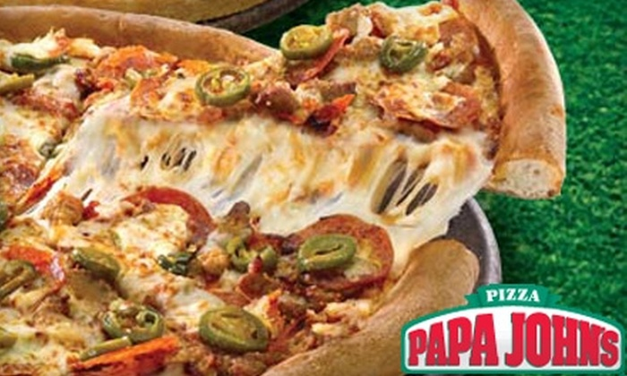 Papa John's Pizza - Multiple Locations: $8 for $16 Worth of Pizza, Breadsticks, and More at Papa John's Pizza