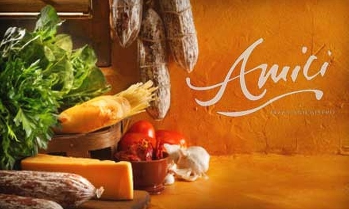 Amici Pizza and Bistro - Audubon Park: $20 for $40 Worth of Italian Fare and Drinks at Amici Pizza and Bistro