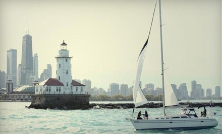 Chicago Sailboat Charters: 2.5-Hours of Semi-Private Sailing for 2 People (Sat. & Sun.) - Chicago Sailboat Charters in