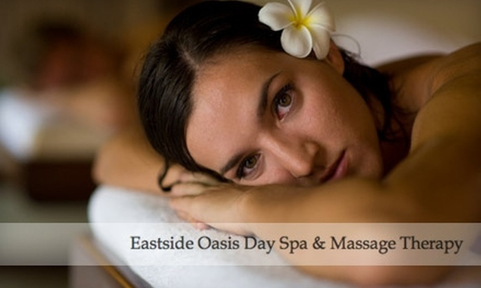Eastside Oasis Day Spa - Crossroads: Spa and Salon Services at Eastside Oasis Day Spa in Bellevue. Two Options Available.