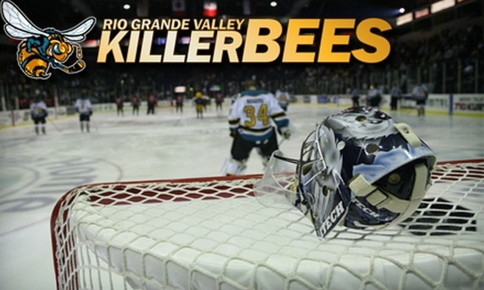 Rio Grande Valley Killer Bees - Hidalgo: $11 for One Gold-Level Ticket to Rio Grande Valley Killer Bees Hockey Game Versus Laredo Bucks on February 18, 2011