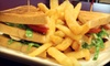 B.B. Rover's Cafe & Pub - Northwest Austin: Pizza Dinner for Two or Four or Pub-Fare Lunch for Two at B.B. Rover's Cafe & Pub (Up to 55% Off)
