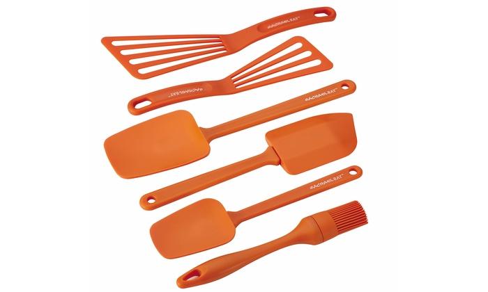 Rachael Ray 6-Piece Nylon Kitchen-Tool Set