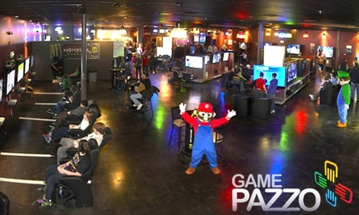 Game Pazzo - Downers Grove: $35 for Punch Card Plus 10 Free Games ($80 Value) or $10 for $20 Worth of Bar Fare at Game Pazzo in Downers Grove