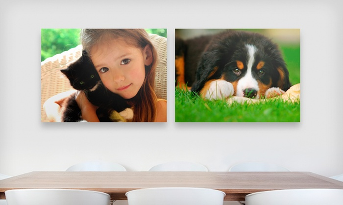 "Gallery-Wrapped Canvases: One or Two 16""x20"" Gallery-Wrapped Canvas Prints from Canvas On Demand (Up to 73% Off). Free Shipping."