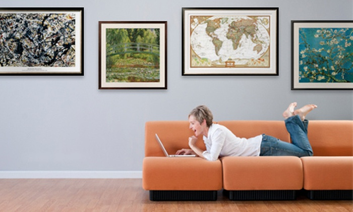 Art.com: $50 for 100 Worth of Framed Art, Prints, and Posters from Art.com